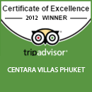 The Certificate of Excellence award  2012