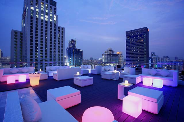 Walk rooftop bar