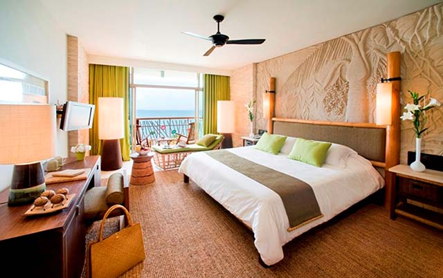 deluxe ocean facing room