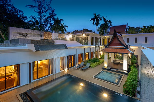 Beachfront Private Pool Villa All-inclusive package