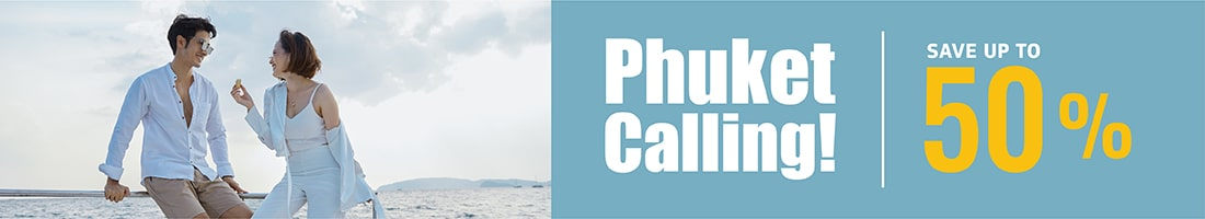 Experience your holiday in Phuket