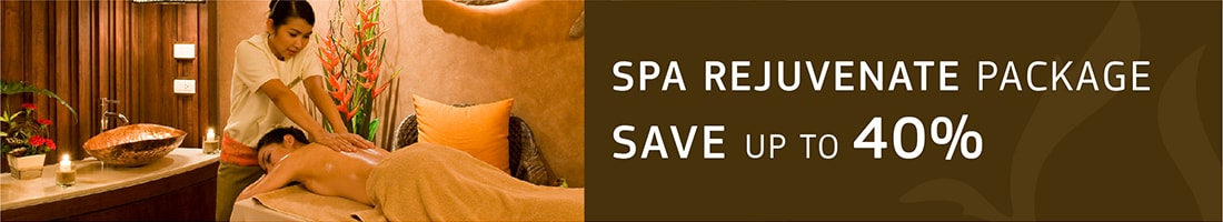 Save up to 40% on Spa Rejuvenate Package