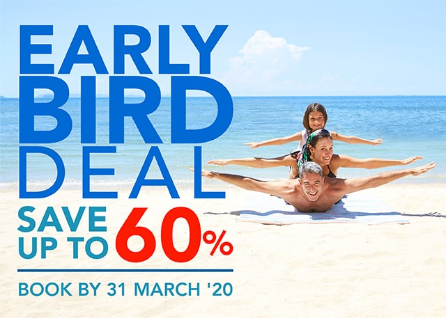 Book early save more at Centara