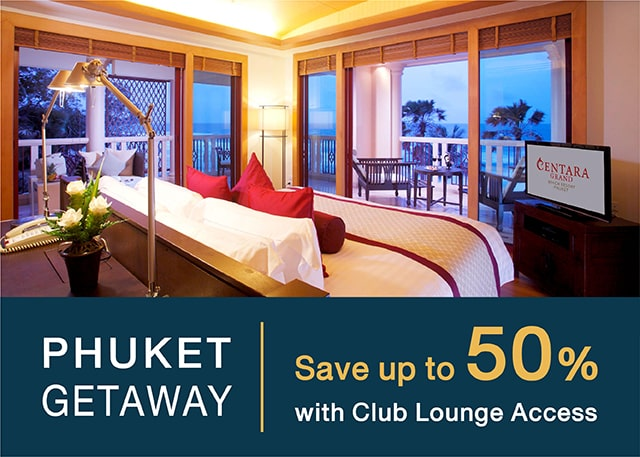 Phuket getaway with club lounge access