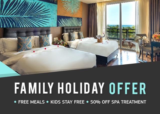 Enjoy your family Holiday with us