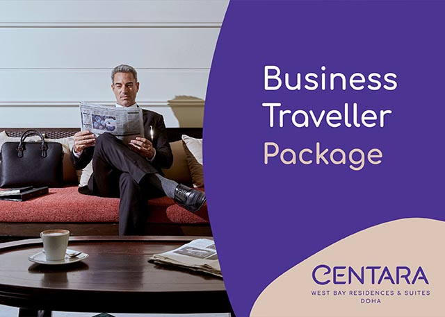 Business traveller offer