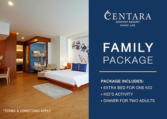Khao Lak family package