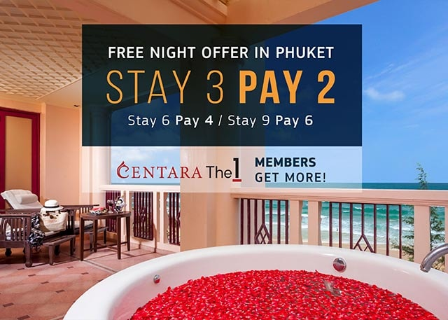 Stay 3 nights pay for only 2 nights